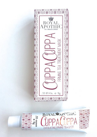 Royal Apothic Cuppa Cuppa Exfoliating Firming Tea Mask