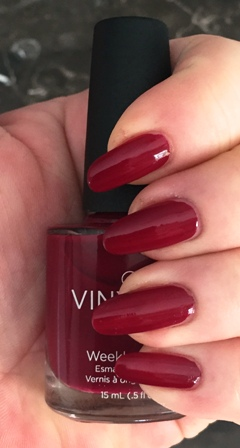 CND Vinylux Rouge Rite Swatch