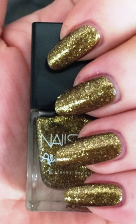 Nails Inc Gold Goddess Swatch