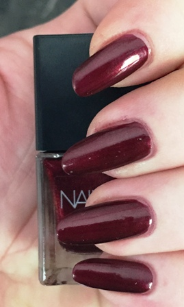 Nails Inc Paris Rouge Swatch