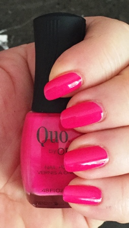 Quo By Orly Electrified Swatch - 1 coat