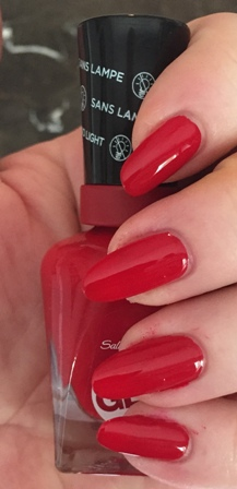 Sally Hansen Miracle Gel 2.0 Rhapsody Red Swatch