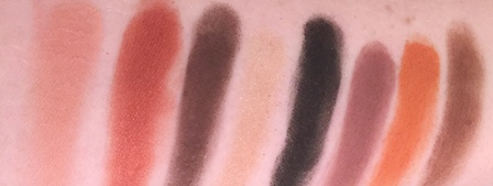 Velvet 59 The Exotic Lotus Palette Swatches