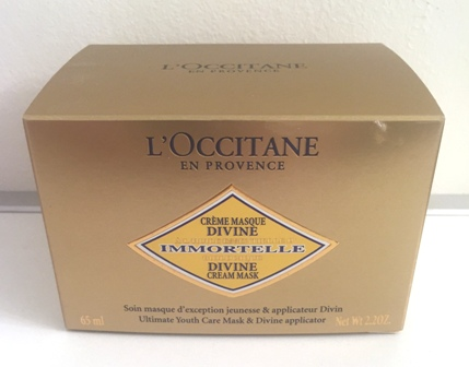 L'Occitane Divine Cream Mask Box