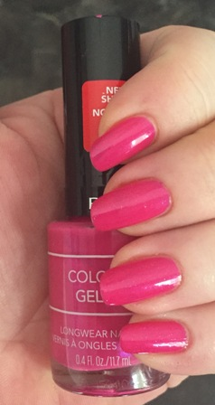 Revlon Colorstay Gel Envy Vegas, Baby Swatch