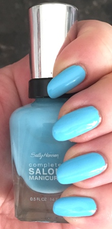 Sally Hansen Complete Salon Manicure Sky's The Limit Swatch - Stain