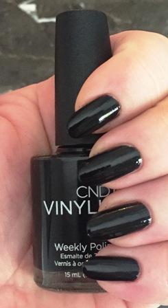 CND Vinylux Black Pool Swatch