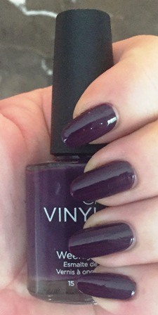 CND Vinylux Rock Royalty Swatch