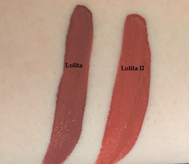 Kat Von D Lolita Lip Duo Swatches