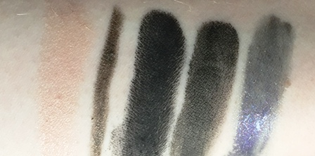 MAC Dark Desires Swatches