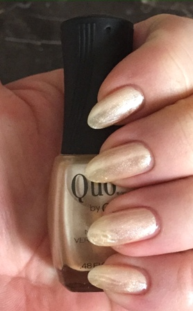 Quo By Orly Pass The Champagne Swatch