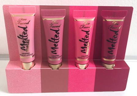 Too Faced Melted French Kisses Open