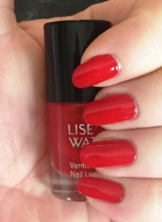 Lise Watier Red Heart Swatch