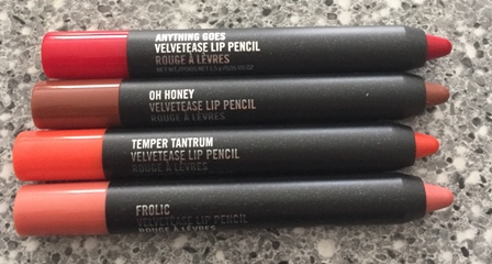 MAC Velvetease Lip Pencil Open