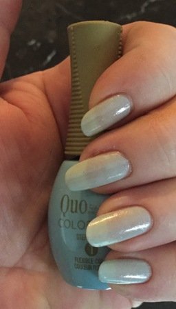 Quo By Orly COLOR AMP'D City Of Angels Swatch - sheer