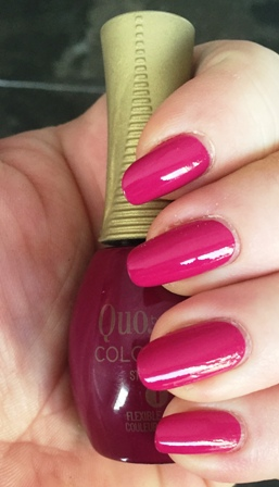 Quo By Orly COLOR AMP'D Fashion Forward Swatch