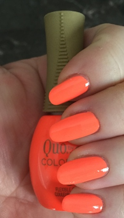 Quo By Orly COLOR AMP'D Pop Culture Swatch - clumping, settling issues
