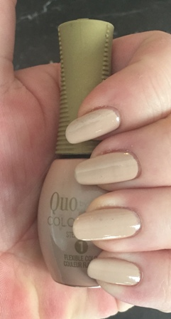 Quo By Orly COLOR AMP'D Speakeasy Swatch