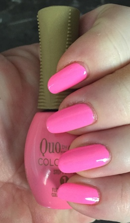 Quo By Orly COLOR AMP'D Surfer Girl Swatch