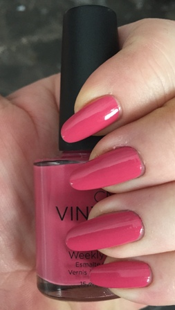 CND Vinylux Irreverent Rose Swatch