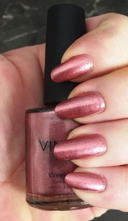 CND Vinylux Untitled Bronze Swatch - Hard to take off