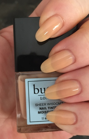 butter LONDON Sheer Nail Tinted Moisturizer - Light Swatch