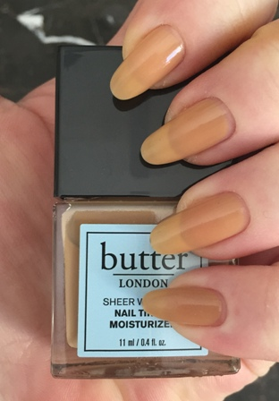 butter LONDON Sheer Nail Tinted Moisturizer - Medium Swatch