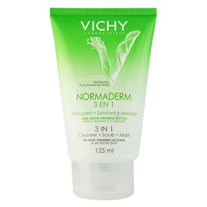 vichy-normaderm-3-in-1-cleanser-scrub-mask