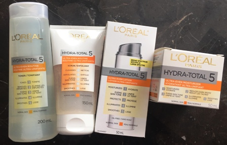 L'Oreal Ultra Even Collection