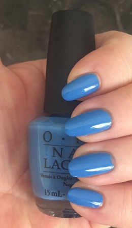 OPI Rich Girls & Po-Boys Swatch - Could've Been 1 Coat, no staining