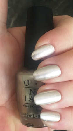 OPI Take A Right On Bourbon Swatch - Brushstrokes