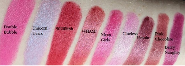 Too Faced La Creme Lipstick New Shades Swatches