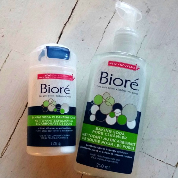 biore baking soda face wash