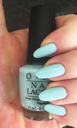 OPI It's A Boy! Swatch