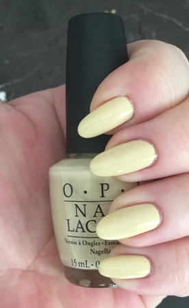 OPI One Chic Chick Swatch - Great Formula, bad colour