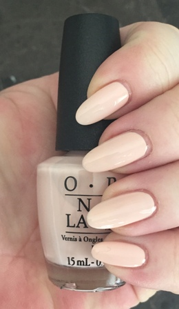 OPI Stop It I'm Blushing! Swatch