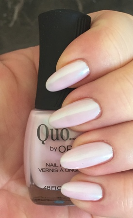 Quo By Orly Always Chic Swatch - Gorgeous Pearlescent Pink