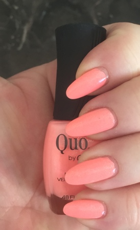 Quo By Orly Stand Out Swatch - Dried Weird