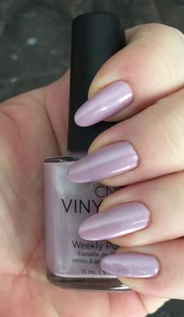 CND Vinylux Lavender Lace Swatch