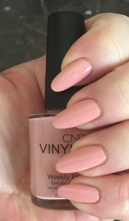 CND Vinylux Pink Pursuit Swatch