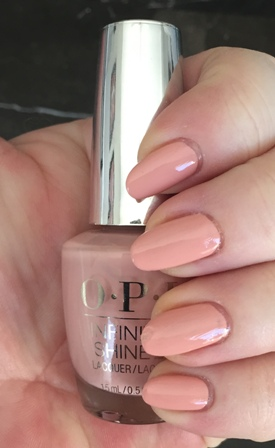 OPI Half Past Nude Swatch Patchy 1