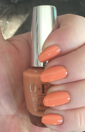 OPI Sunrise To Sunset Swatch - Too yellow 1