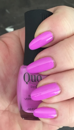 Quo By Orly Purple Sunset Swatch