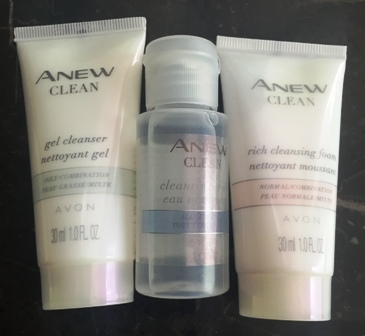 Avon Anew Travel Cleansers