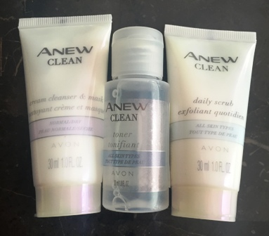 Avon Anew Travel Skincare
