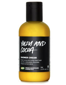 Lush Yuzu And Cocoa Shower Cream
