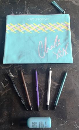 Make Up For Ever Charli XCX Aqua Pencil Contents