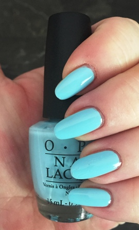 OPI Sailing & Nailing Swatch