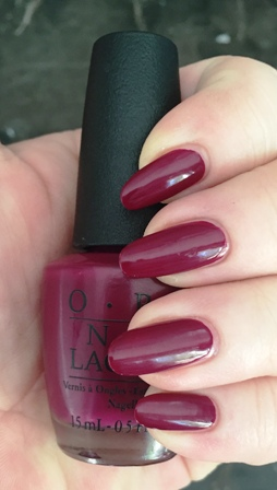 OPI What's The Hatter With You Swatch