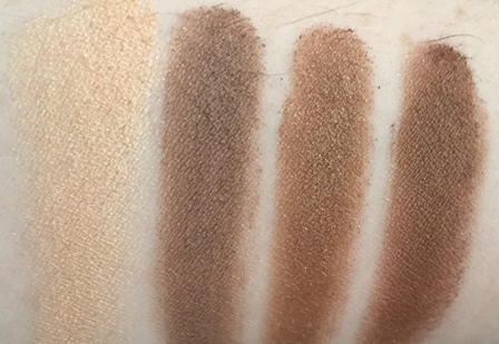 Charlotte Tilbury The Golden Goddess Luxury Palette Swatches